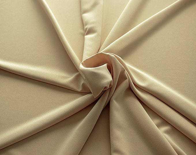 905128-Crepe 100% Polyester, 150 cm wide, made in Italy, dry washing, weight 306 gr, Price 0.25 meters: 8.14 Euros
