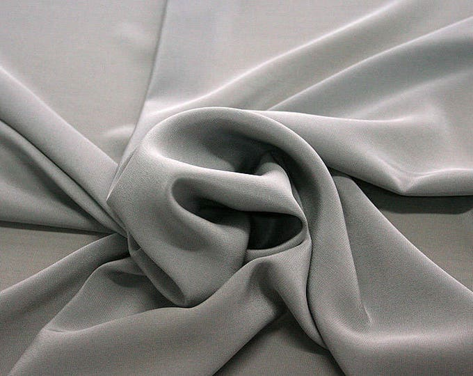 301186-Crepe de Chine, natural silk 100%, wide 135/140 cm, dry wash, weight 88 gr, price 0.25 meters: 11.35 Euros