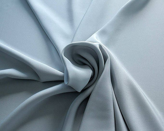 305181-Crepe marocaine, natural silk 100%, wide 130/140 cm, dry washing, weight 215 gr, Price 0.25 meters: 26.09 Euros