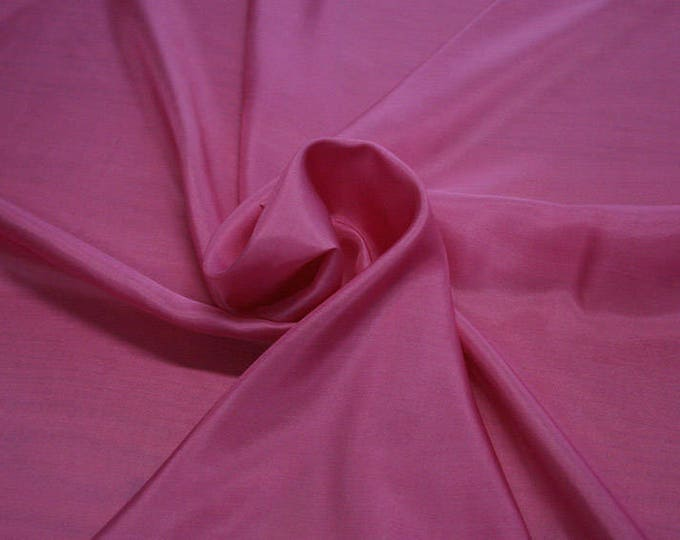 402130-taffeta, natural silk 100%, wide 110 cm, made in India, dry washing, weight 58 gr, Price 0.25 meters: 6.63 Euros