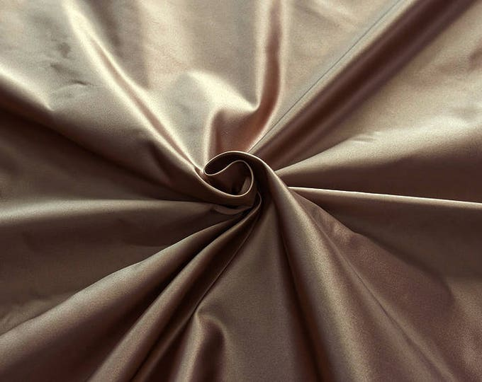 876023-satin, natural silk 100%, wide 135/140 cm, dry wash, weight 190 gr, price 0.25 meters: 31.69 Euros