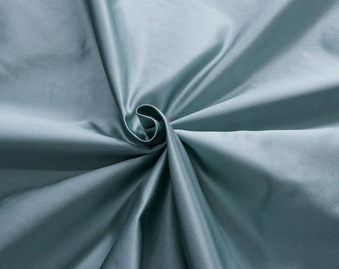 876092-satin, natural silk 100%, wide 135/140 cm, dry wash, weight 190 gr, price 0.25 meters: 31.69 Euros