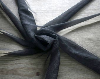 326201-natural Silk Chiffon 100%, wide 127/130 cm, made in Italy, dry cleaning, weight 29 gr, price 1 meter: 31.76 Euros