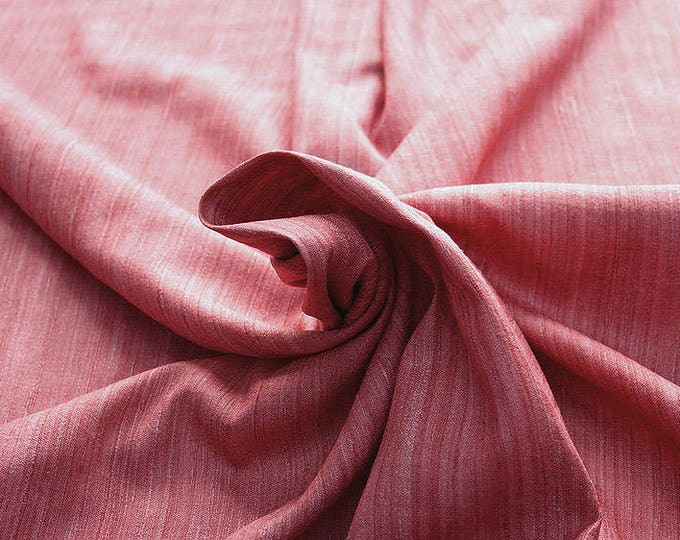 453114-Rustica, natural silk 100%, width 135/140 cm, dry washing, weight 240 gr, price 0.25 meters: 9.02 Euros