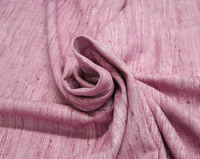 451131-Rustica, natural silk 100%, width 135/140 cm, dry washing, Weight 360 gr, price 0.25 meters: 9.72 Euros