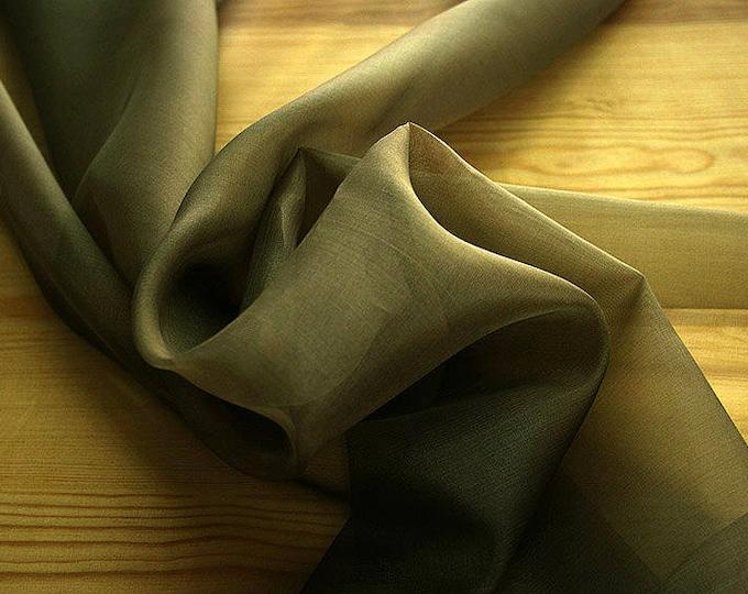 131100-organdy, natural silk 100%, width 135/140 cm, dry washing, weight 34 gr, Price 0.25 meters: 7.10 Euros