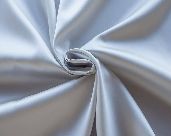 273181-Mikado-85% Polyester, 15 silk, 160 cm wide, made in Italy, dry washing, weight 160 gr, Price 0.25 meters: 12.95 Euros