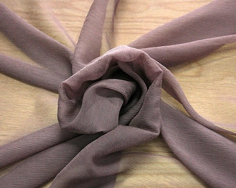 326021-Chiffon, natural silk 100%, wide 127/130 cm, made in Italy, dry wash, weight 29 gr, Price 0.25 meters: 7.94 Euros
