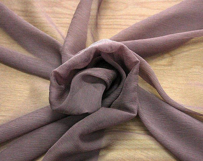 326021-Chiffon, natural silk 100%, wide 127/130 cm, dry wash, weight 29 gr, Price 0.25 meters: 7.94 Euros