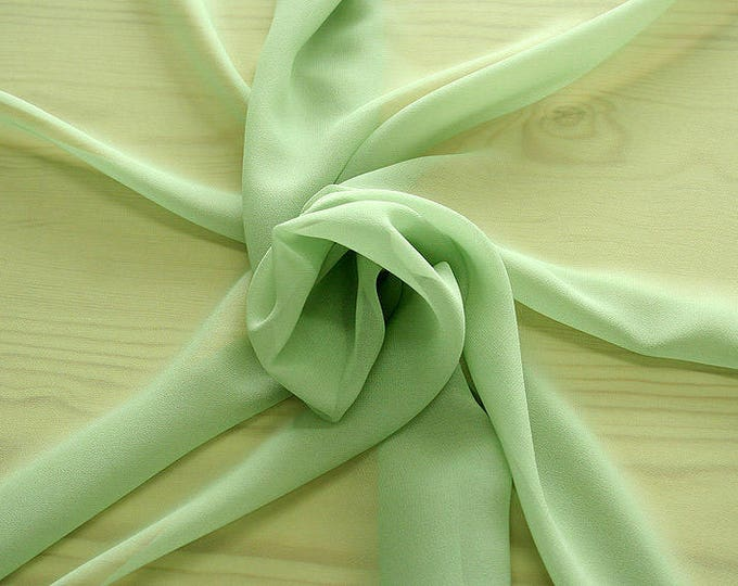316083-Georgette, natural silk 100%, wide 135/140 cm, dry wash, weight 50 gr, price 0.25 meters: 9.08 Euros