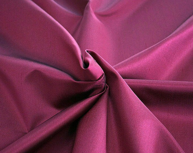 236105-Shantung, natural silk 100%, wide 135/140 cm, made in Italy, dry washing, weight 120 gr, price 0.25 meters: 16.54 Euros