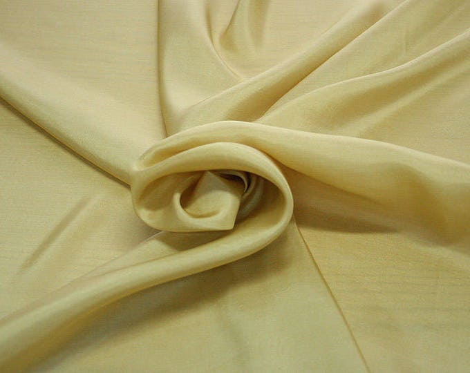 402070-taffeta, natural silk 100%, wide 110 cm, made in India, dry washing, weight 58 gr, Price 0.25 meters: 6.63 Euros
