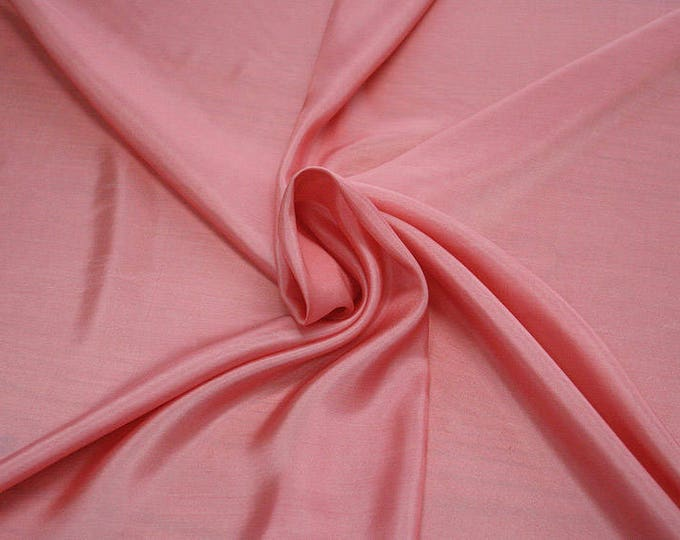 402112-taffeta, natural silk 100%, wide 110 cm, made in India, dry washing, weight 58 gr, Price 0.25 meters: 6.63 Euros