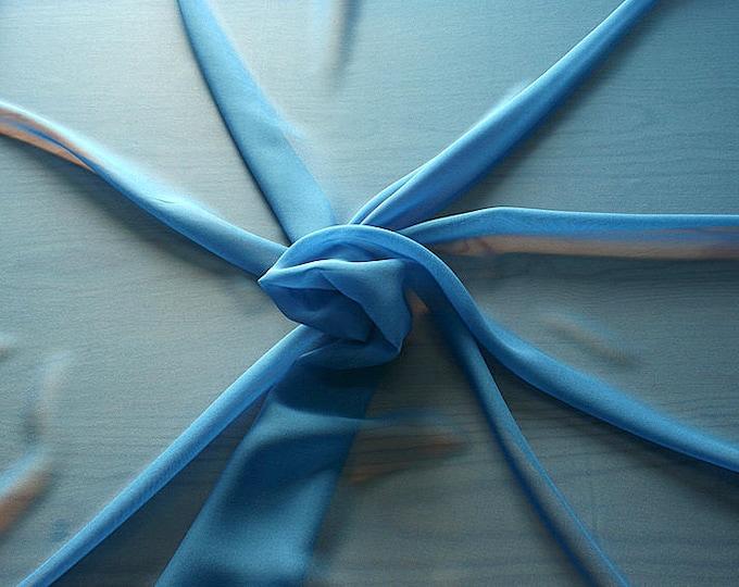 316142-Georgette, natural silk 100%, wide 135/140 cm, dry wash, weight 50 gr, price 0.25 meters: 9.08 Euros