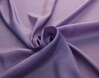 402206-taffeta natural silk 100%, wide 110 cm, made in India, dry cleaning, weight 58 gr, price 1 meter: 26.50 Euros