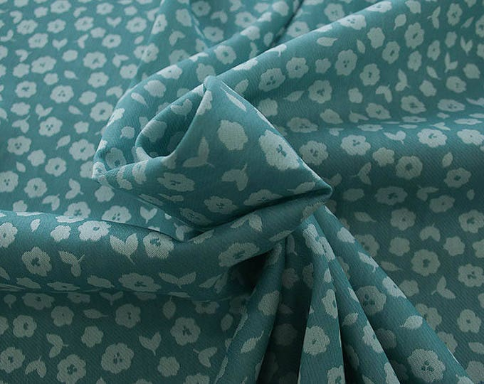 990021-095 JACQUARD-VI 90%, PA 10, 150 cm wide, made in Italy, dry wash, weight 228 gr, price 0.25 meters: 13.40 Euros