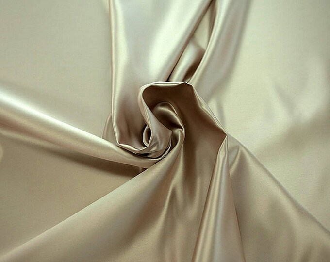 978007-satin, polyester 100%, width 150 cm, made in Italy, dry washing, weight 260 gr, price 0.25 meters: 5.96 Euros