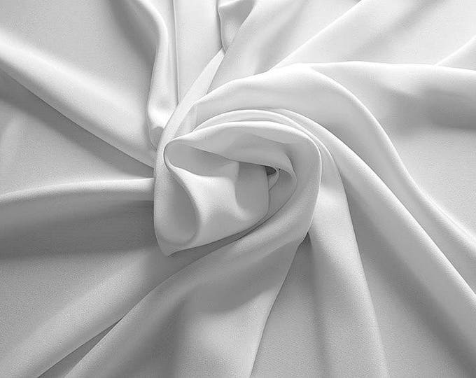 305002-Crepe marocaine Natural Silk 100%, wide 130/140 cm, made in Italy, dry cleaning, weight 215 gr, price 1 meter: 104.36 Euros
