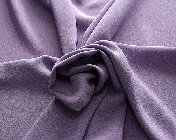 305206-Crepe marocaine Natural Silk 100%, wide 130/140 cm, made in Italy, dry cleaning, weight 215 gr, price 1 meter: 104.36 Euros