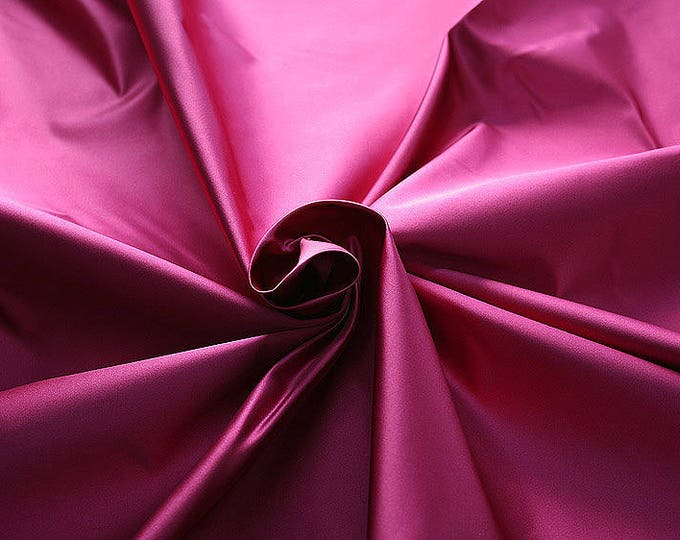 276124-natural silk satin 100%, 135/140 cm wide, manufactured in Italy, dry cleaning, weight 180 gr, price 1 meter: 133.89 Euros