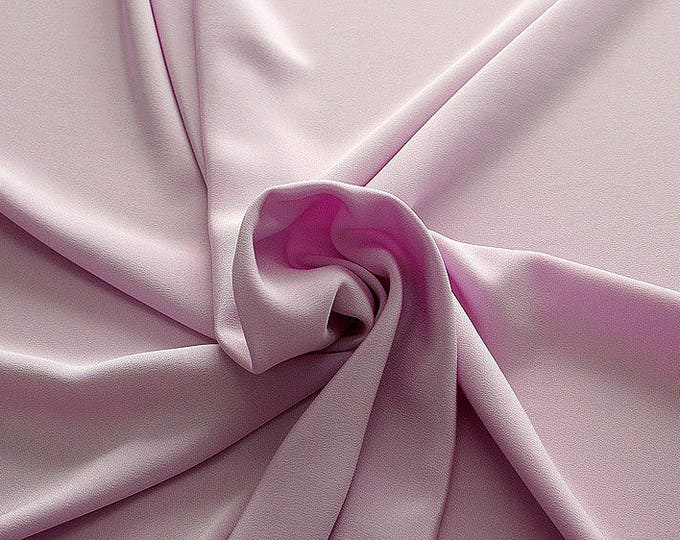 305209-Crepe marocaine Natural Silk 100%, wide 130/140 cm, made in Italy, dry cleaning, weight 215 gr, price 1 meter: 104.36 Euros