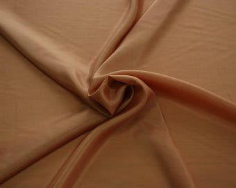 402043-taffeta natural silk 100%, wide 110 cm, made in India, dry cleaning, weight 58 gr, price 1 meter: 26.50 Euros