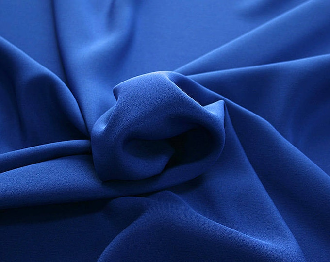 305141-Crepe marocaine Natural Silk 100%, wide 130/140 cm, made in Italy, dry cleaning, weight 215 gr, price 1 meter: 104.36 Euros