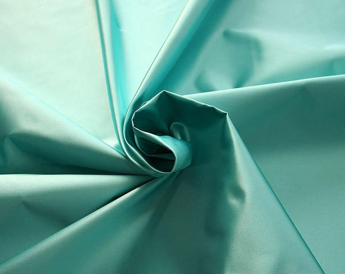 276095-natural silk satin 100%, 135/140 cm wide, manufactured in Italy, dry cleaning, weight 180 gr, price 1 meter: 133.89 Euros