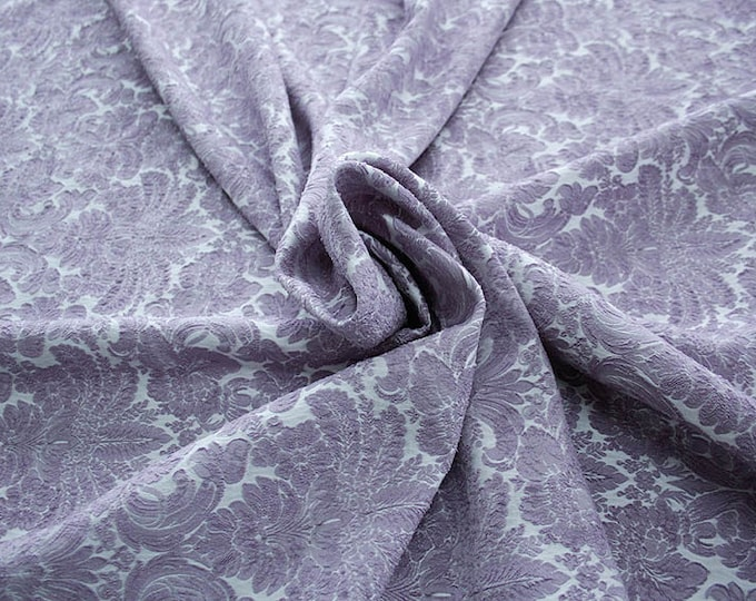990092-205 JACQUARD-Pl 86%, Pa 12, Ea 2, 150 cm wide, manufactured in Italy, dry cleaning, weight 368 gr, price 1 meter: 57.17 Euros