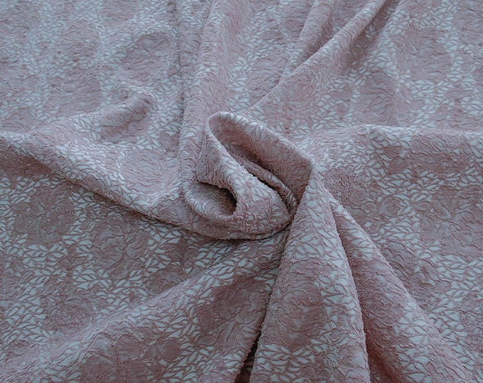 990091-140 JACQUARD-Pl 86%, Pa 12, Ea 2, 150 cm wide, manufactured in Italy, dry cleaning, weight 368 gr, price 1 meter: 57.17 Euros