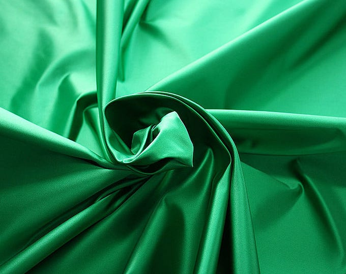 276082-natural silk satin 100%, 135/140 cm wide, manufactured in Italy, dry cleaning, weight 180 gr, price 1 meter: 133.89 Euros