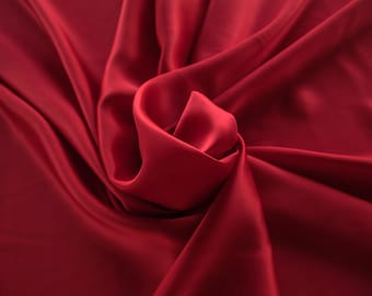 1712-101-crepe Satin natural silk 100%, wide 135/140 cm, made in Italy, dry cleaning, weight 100 gr, price 1 meter: 58.87 Euros