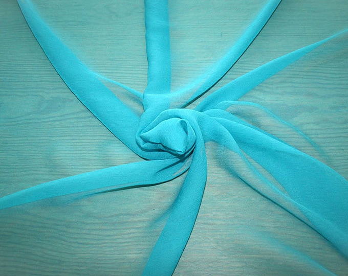 326095-natural Silk Chiffon 100%, wide 127/130 cm, made in Italy, dry cleaning, weight 29 gr, price 1 meter: 31.76 Euros