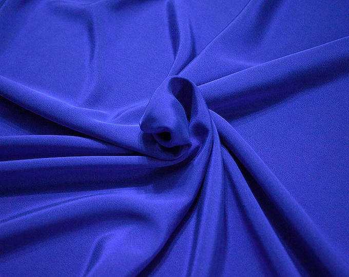 305217-Crepe marocaine Natural Silk 100%, wide 130/140 cm, made in Italy, dry cleaning, weight 215 gr, price 1 meter: 104.36 Euros