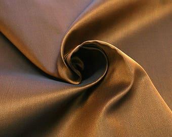865072-Gazar Natural silk 100%, width 140 cm, made in Italy, dry cleaning, weight 126 gr
