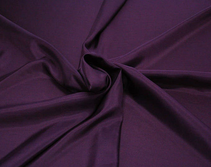 402220-taffeta natural silk 100%, wide 110 cm, made in India, dry cleaning, weight 58 gr, price 1 meter: 26.50 Euros