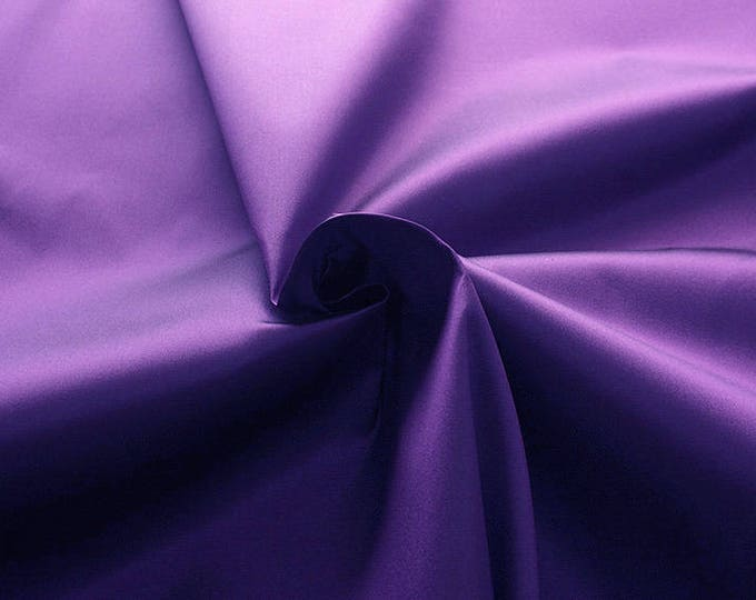 272216-Mikado de Seda natural 100%, 135/140 cm wide, made in Italy, dry cleaning, weight 190 gr, price 1 meter: 132.37 Euros