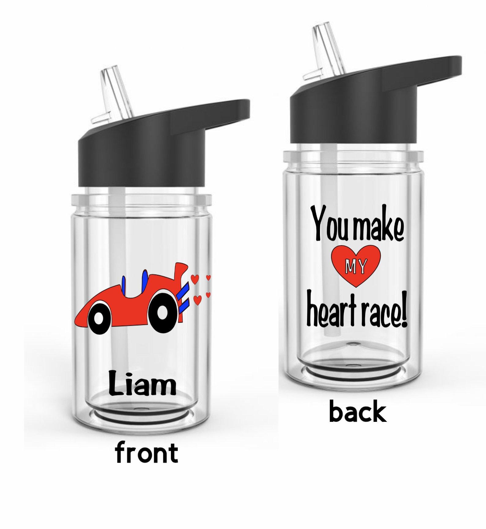 2021 Valentines Day; Valentine Gift; Valentines Day; Kids Water Bottle; Pink Water Bottle; Plastic Water Bottle; Reusable Water Bottle;