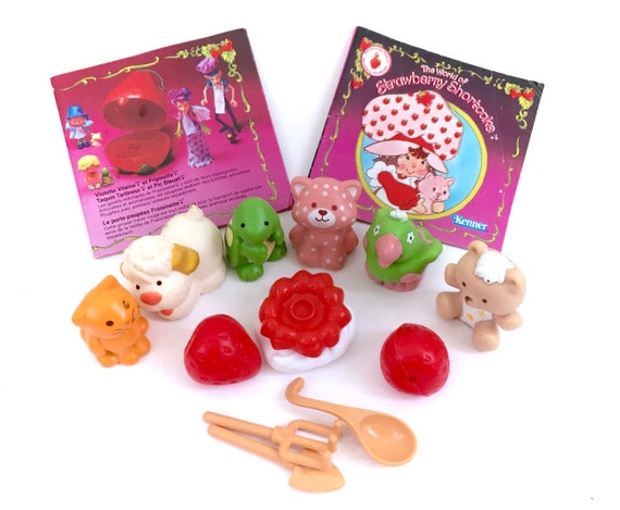 Vintage Strawberry Shortcake Pet American Greeting card Sugar Woofer Dog puppy