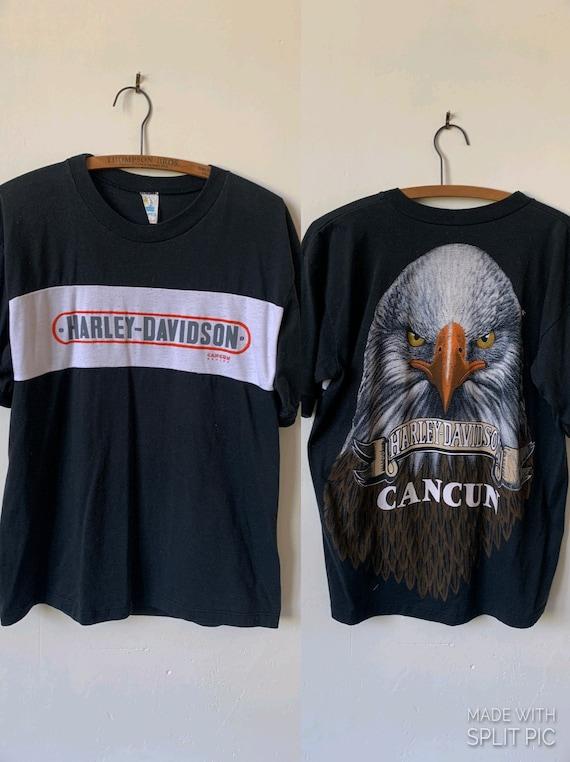 Vintage Harley-Davidson 1980's T Shirt Vintage Can