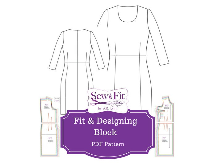 Designing Pattern Block & Fitting System, fashion design sewing pattern