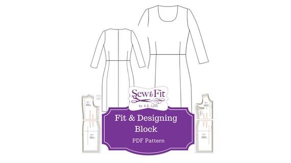 Designing Pattern Block & Fitting System, fashion design sewing pattern