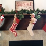 Nutmeg Christmas Stocking Collection Set