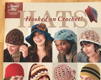 Hooked on Crochet! Hats Paperback by Annie's Attic - fun and easy hats