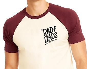 5d76866d1 Rad Dads Club Raglan T Rad Dad Surfer Dad Gift Skater Dad Gift New Dad Gift  Gift for Husband Dad Shirt Dad Tshirt Dad Tee Dad Tees Dad T Fun