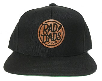 d40654fc Rad Dads Club Leather Patch Hat Dad Hat Father's Day Gift Dad Gift New Dad  Gift Dads Hat Dad Hats Proud Dad Dad Life Dad Birthday Gift Daddy