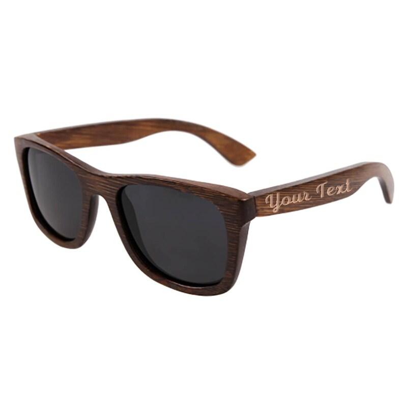 07eb4fb13919 Personalized Wayfarer Sunglasses Polarized Wooden Sunglasses