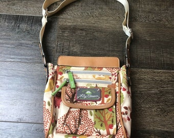 Lily Bloom Forest Animals Crossbody Purse Bag