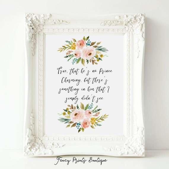 True That Hes No Prince Charming Princess Belle Disney Etsy