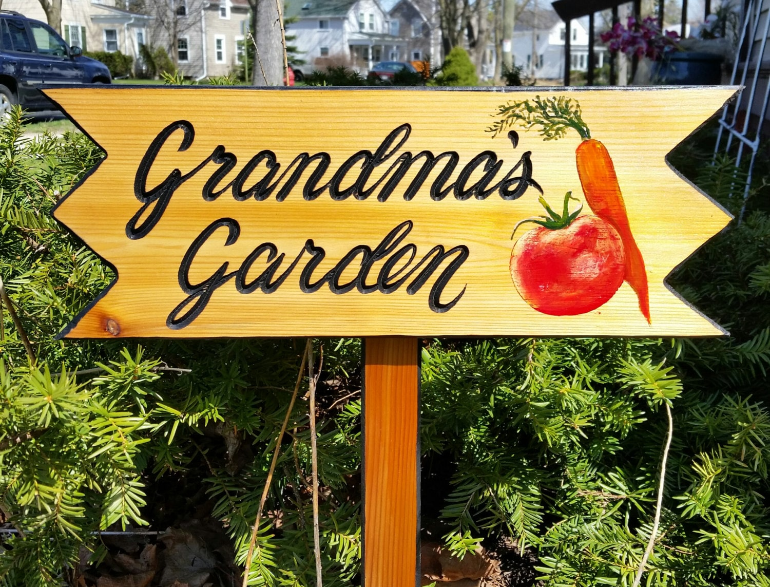 Garden Signs Personalized Garden Signs Christmas Gift   Etsy